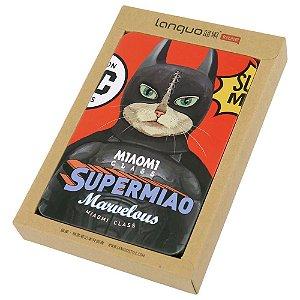 Bloco de Notas Gato Batman