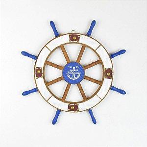 Timão Decorativo Rústico Azul