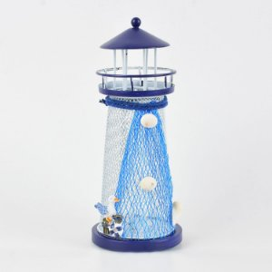 Farol de Metal com luz de LED D