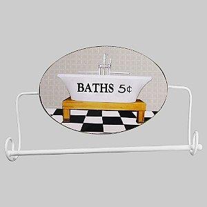 Porta Toalha Baths