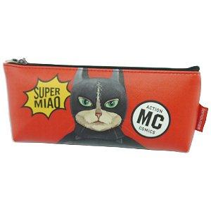 Estojo Bat Gato Vermelho