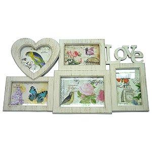 Porta Retrato Romantic Love