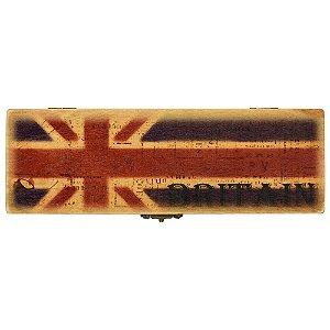 Caixinha de Madeira Bandeiras