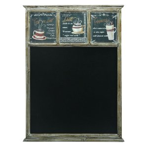 Quadro Negro Decorativo Coffee
