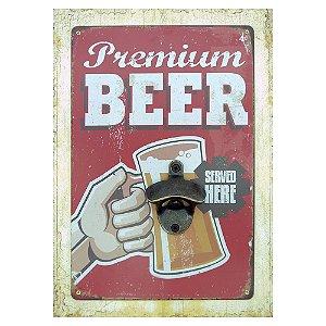 Abridor de Parede Premium Beer
