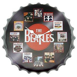 Relógio Decorativo Tampa Beatles
