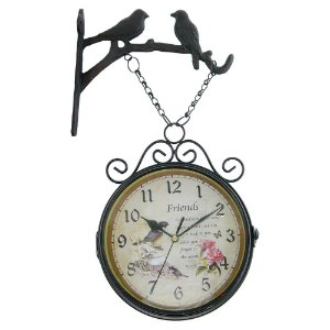 Relógio Vintage Estação Birds