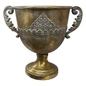 Vaso de Metal Rústico Imperial