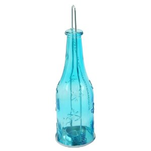 Luminária estilo Garrafa Azul
