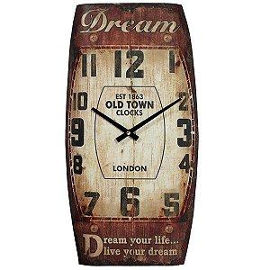 Relógio de Parede Vintage Dream