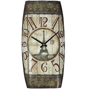 Relógio de Parede Vintage Paris