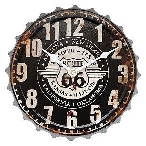 Relógio de Parede Vintage Route 20cm