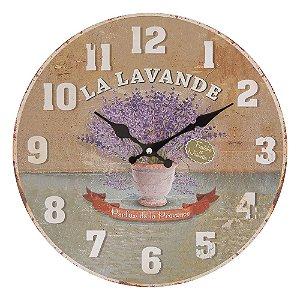 Relógio de Parede Essence Lavanda