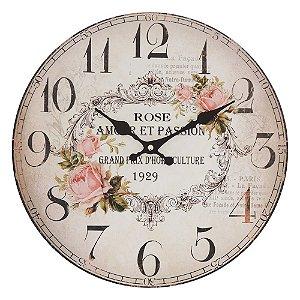 Relógio de Parede Essence Rose
