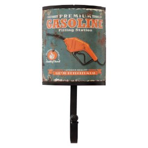 Cabideiro de Parede Rústico Gasoline Premium