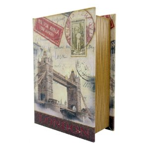Porta Objetos c/ 3 Livros Londres