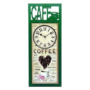 Relógio de Parede Love Coffee
