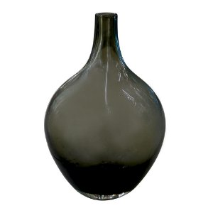Vaso de Vidro Quartzo Preto