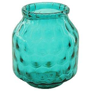 Vaso de Vidro Caribe Azul