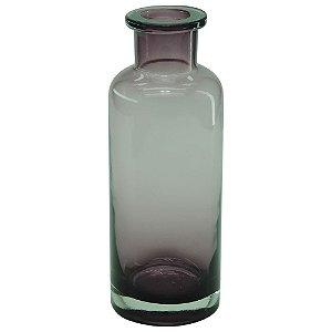 Vaso de Vidro Bottle Roxo