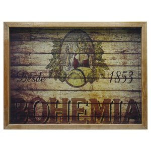 Quadro Porta Tampinhas Bohemia