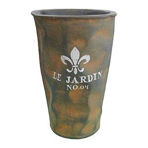 Vaso de Cerâmica Rústico Jardim