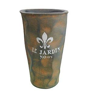 Vaso de Cerâmica Le Jardin Rústico