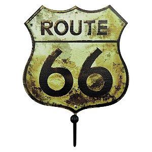 Mini Cabideiro Route 66 Rústico