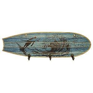 Cabideiro Prancha de Surf Azul