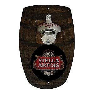 Abridor de Garrafa Barril Stella Artois