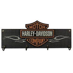 Cabideiro de Parede Harley Davidson Motor Company