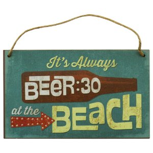 Quadro decorativo Beach Beer