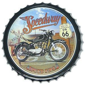 Tampa Decorativa Speedway