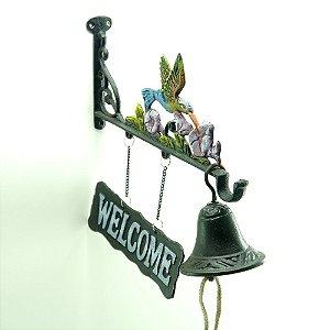 Sino de Parede Welcome