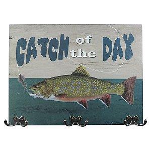 Cabideiro de Parede Peixe Cath Of Day