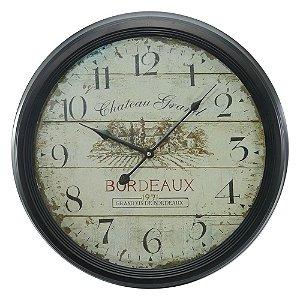 Relógio de Parede Bordeaux