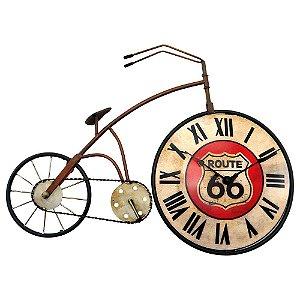 Relógio Bicicleta Route 66
