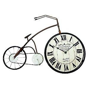 Relógio de Parede Bicicleta Vintage