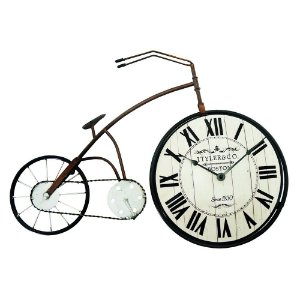 Relógio de Mesa Bicicleta Vintage