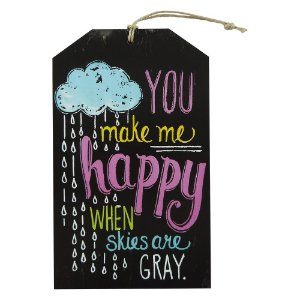 Decorativo Tag Parede Make Happy