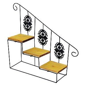 Prateleira Escandinavo Escada