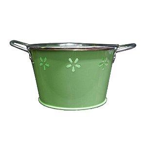 Vaso de Metal Verde