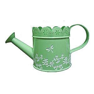 Vaso de Metal estilo Regador Verde