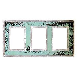 Porta Retrato Rústico Verde