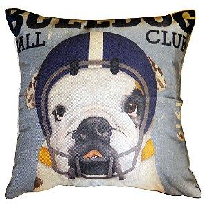Capa de Almofada Bulldog