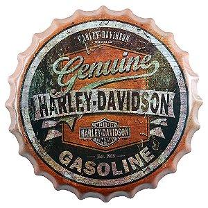 Tampa Decorativa Harley Davidson