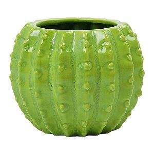 Vaso de Cerâmica Cactos Redondo