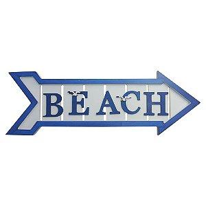Enfeite de Madeira Seta Beach