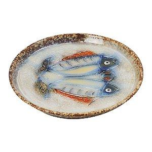Pestiqueira de Cerâmica estilo Peixe