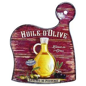 Tag de Cerâmica Bordô Olive